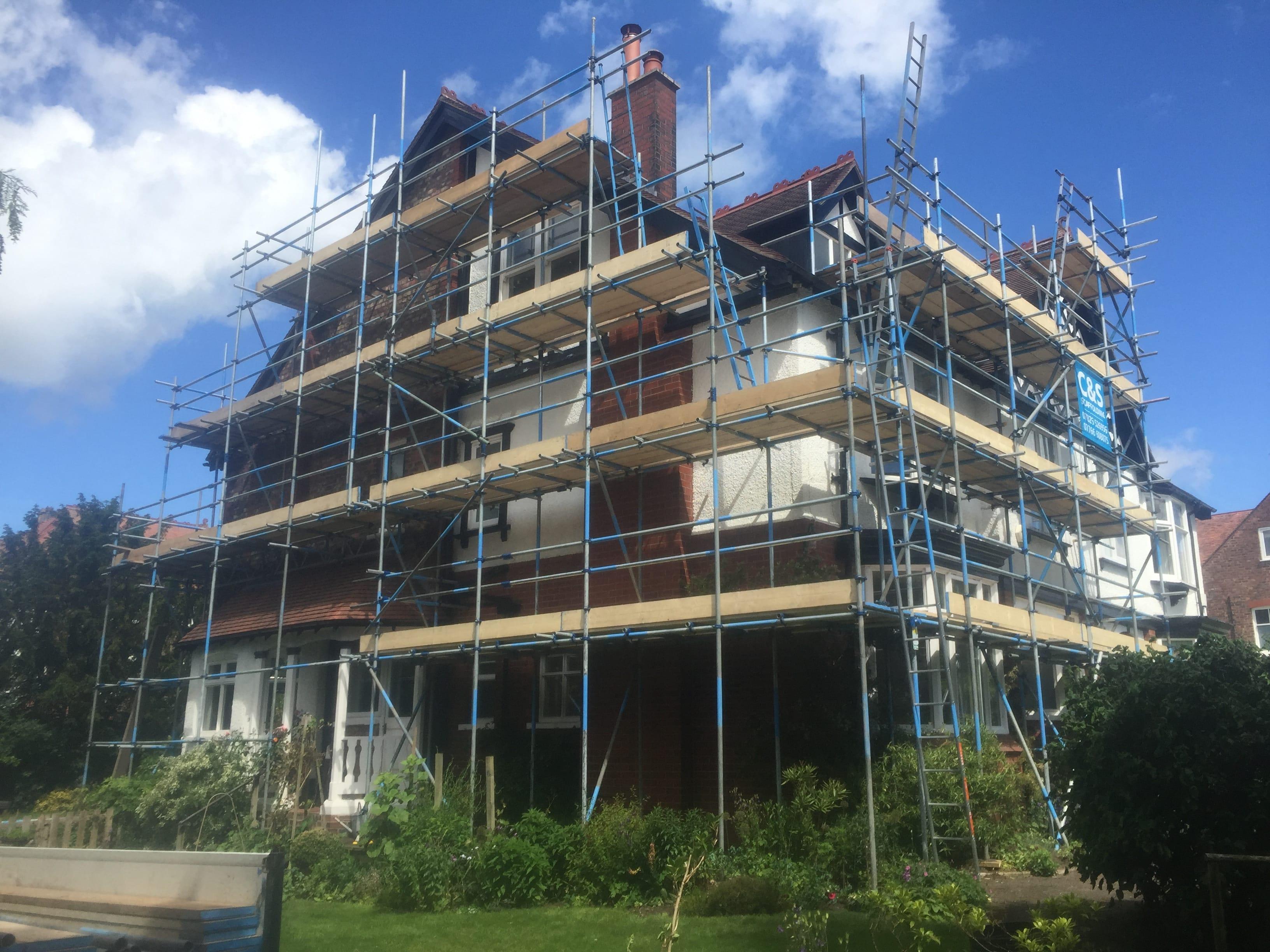 Scaffolding Contractor Derby